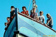 Del barco de Chanquete no nos moverán....
