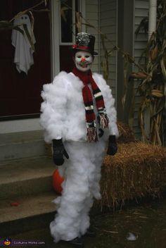 Halloween Snowman Costume - Halloween Costume Contest via @costumeworks