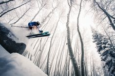 Powder, pillows and great tree skiing keep local skier Mike Maroney around season after season.