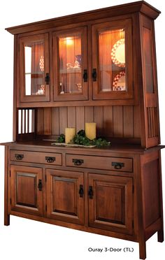 amish dining room mission hutch buffet server china cabinet solid wood hamilton sofa table with curved legs dcg stores Craftsman Furniture, Amish Furniture, Country Furniture, Home Furniture, Cheap Furniture, Inexpensive Furniture, Coastal Furniture, Furniture Movers, Furniture Removal