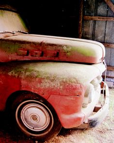 Vintage Vehicle Photography  1950s Ford