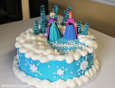 Grace Turns Four! (A Disney Frozen Party) - Daily Rebecca