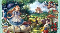 Alice in anime