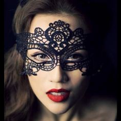 Lace Masquerade Mask  Beautiful Lace Masquerade Mask.                 ***NEW in package*** Accessories
