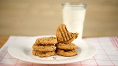 """I Can't Believe It's Gluten-free Peanut Butter Cookies. Sub-out the sugar with """"Stevia in the Raw"""" for SF cookies.."""