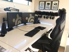Black/White Gaming Headquarters as I'd call it. Maybe for StarCraft, the Command Center
