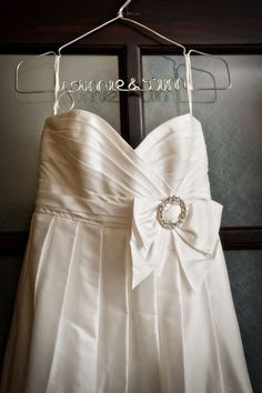 Personalized Hanger The Original Silver Lingerie Custom Wedding Dress In Wire 2500