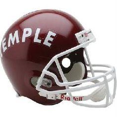 Riddell Temple Owls Deluxe Replica Helmet