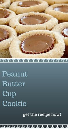 Homemade Peanut Butter Cup Cookies - great to make (and eat with!) kids. #peanutbutter #chocolate #cookies