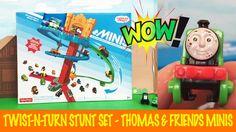 Thomas & Friends Minis Twist-N-Turn Stunt Set Unboxing
