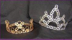 Todo el mundo puede ser rey o reina con la corona de anillas de lata
