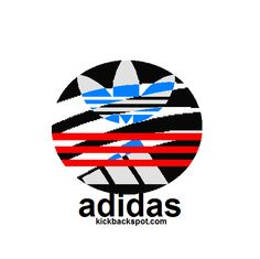 Adidas, new, cool, logo all ,four, Adidas, logo's, in one, design.