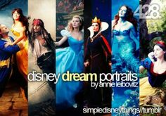 Disney dream portraits.