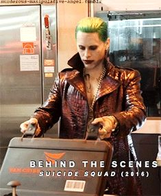 suicide squad (2016), behind the scenes | jared leto as the joker || xDDD