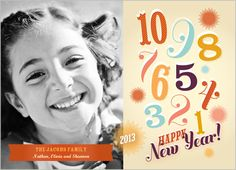 Happy Countdown New Year's Card