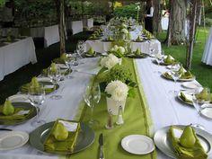 just for colour, not design Rain Wedding, Wedding Reception, Dream Wedding, Wedding Dreams, Wedding Stuff, Chartreuse Wedding, Lime Green Weddings, Weeding Themes, Cornish Wedding