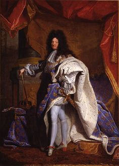 Louis XIV the Great, the Sun King - King of France and Navarre (1638-1715)  - son of Louis XIII
