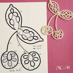 37 ideas fruit pattern legumes for 2019 Tatting Necklace, Tatting Jewelry, Lace Jewelry, Tatting Lace, Needle Lace, Bobbin Lace, Needle Tatting Patterns, Pattern Quotes, Tatting Tutorial