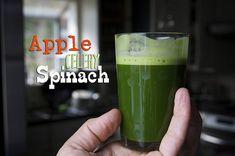 Apple Celery Spinach Juice