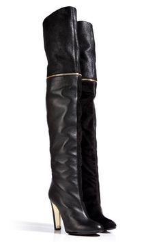 fall '13 boot guide: over-the-knee - bring this trend to the streets with a short mini skirt or leather leggings...