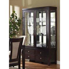 Steve Silver Furniture Wilson China Cabinet