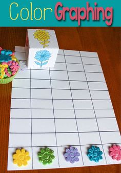 A few stickers and the free printable dice is all you need to make this super fun graphing activity for preschoolers!