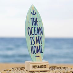 Deco Surf, Miss Wood, Blue Brown, Blue And White, Ocean Club, Balance Board, Beer Garden, Surfs Up, Beach Themes