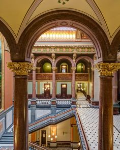 Illinois State Capitol West Wing Restoration | Vinci Hamp Architects. Photo © Tom Rossiter | Bustler
