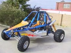 construye tu buggy arenero tubular playero
