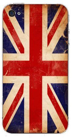 Union Jack iPhone wrap