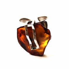 Handmade Baltic Amber Sterling Silver Bracelet no.174K