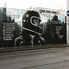 Street art Dublin 8   #streetarteverywhere #beauty #mindfulness #quotes #art #dublin