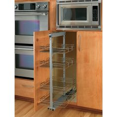 Buy the Rev-A-Shelf CR Chrome Direct. Shop for the Rev-A-Shelf CR Chrome 5200 Chrome Series Pull Out Pantry with 4 Baskets and save. Cabinets For Less, Buy Kitchen Cabinets, Kitchen Hoods, Kitchen Cabinet Organization, Kitchen Redo, Kitchen Storage, Kitchen Remodel, Kitchen Dining, Cabinet Organizers