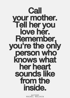 Wisdom Sayings & Quotes QUOTATION - Image : Quotes Of the day - Description you're the only one who knows what her heart sounds like from the inside Inspirational Quotes Pictures, Great Quotes, Quotes To Live By, Me Quotes, Family Quotes, Wisdom Quotes, Motivational Quotes, True Words, Heart Sounds