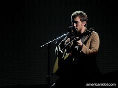 "Phillip Phillips performs ""Volcano"" by Damien Rice at the Top 4 performance show."