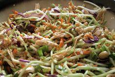 crunchy oriental chicken salad