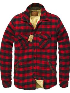 Red   Black Buffalo Check Flannel Shirt c6f7be96ba