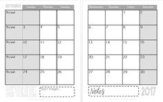 Eat. Write. Teach. FREE Printable Calendars for the 2017-2018 School Year!