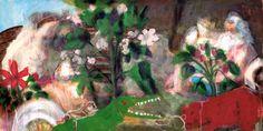 A. Beck, Komm heraus Geräusch, Acryl auf Leinwand, 70 x 140 cm, 2011, 1470 €