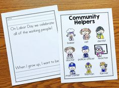Labor Day for Kindergarten (Preschool and First too!) - Simply Kinder