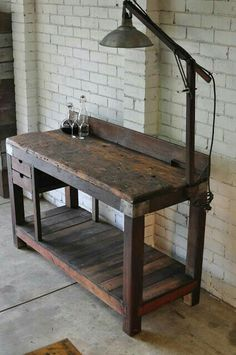 Nice old workbench