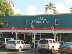 Kalapawai Market at Kailua Beach - best coffee I've ever had (except in Italy).