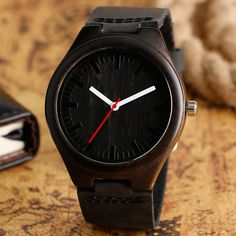 Cheap gift gifts, Buy Quality gift women directly from China gift men Suppliers: Simple Casual Wooden Watch Natural Bamboo Handmade Wristwatch Genuine Leather Band Strap Quartz-watch Men Women Gift Sport Watches, Watches For Men, Women's Dress Watches, Fossil Watches, Men's Watches, Analog Watches, Business Casual Dresses, Wooden Watch, Watch Sale