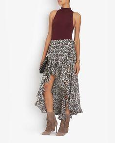 Caroline Constas EXCLUSIVE Adelle Printed Convertible Skirt/Top | Shop IntermixOnline.com