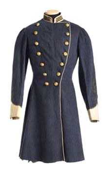 Confederate Uniform Coat, worn by Capt. Warren R. Marshall of Newberry, S.C.