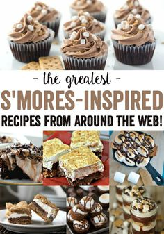 The Best S'mores Recipes - The Greatest from Around the Web!