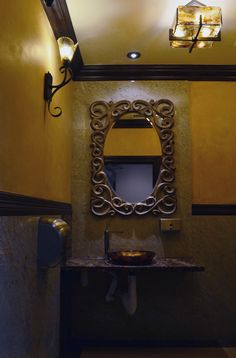 La Paz gas station wash woman´s restroom.