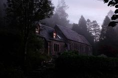 A truly unique, intimate & secret wedding venue in Scotland. St Mary's converted church home in the West Scottish Highlands is a hidden destination venue with bespoke cabin for creative & adventurous couples to elope & escape Space Wedding, Scottish Highlands, Glamping, Cabin, House Styles, Bespoke, Scotland, Wedding Venues, Adventure