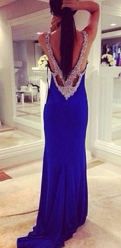 The back is so elegant and pretty