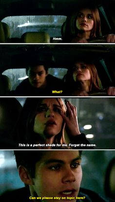 "Teen Wolf Final Season, Season 6 Episode 1 ""Memory Lost"" Stiles Stilinski and Lydia Martin"